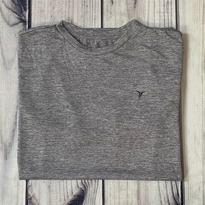Old Navy Go-Dry Active Short Sleeve Grey T-Shirt